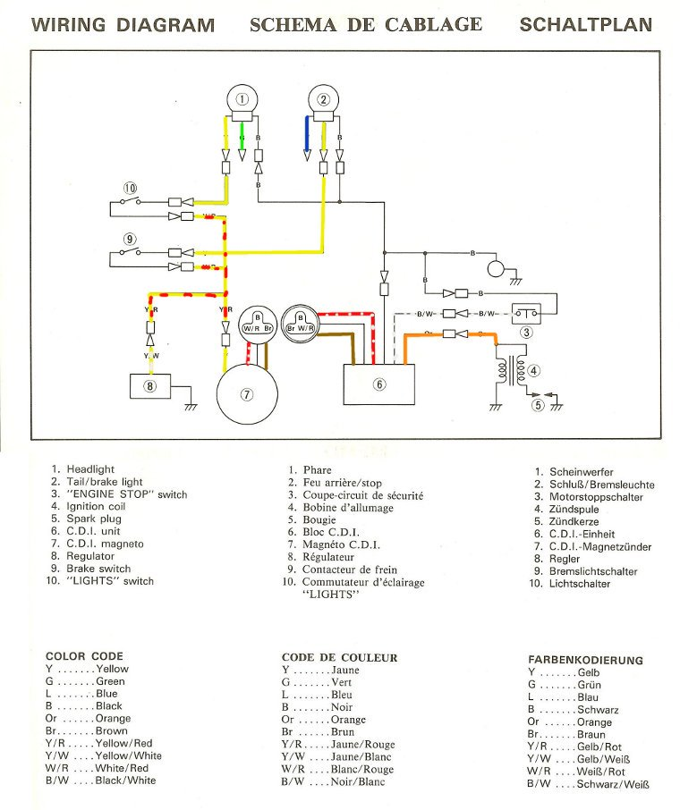 elect38v yamaha ty 250 mono electricit� yamaha virago 250 wiring diagram at edmiracle.co
