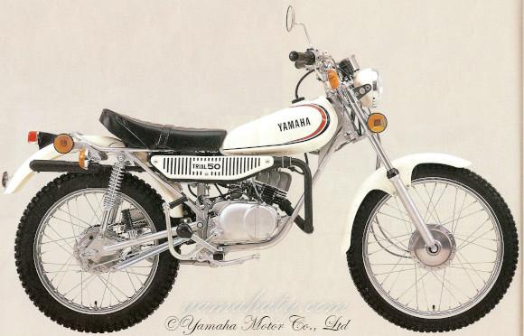 moto yamaha 50cc 1980