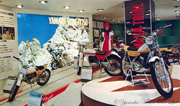 yamaha ty yamaha trial journal ty 250 j 1973