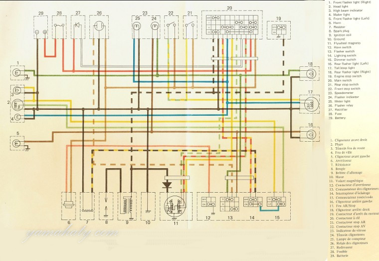 a ty 250 yamaha wiring diagram easy wiring diagrams u2022 rh art isere com